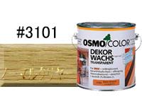 【オリジナル塗装レシピ付き♪】オスモカラー ウッドワックス#3101 ノーマルクリアー 2.5L