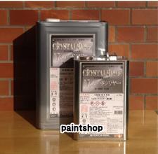 ●送料無料● クリスタルロック UVガードクリヤー 15kgsセット つや有り・3分つや ロックペイント ロック rockpaint