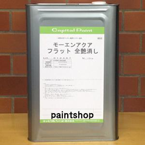 不燃材料認定 モーエンアクア 15kg キャピタルペイント 上塗り(クリヤー)