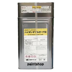 ハイポンWガードSi 調色(淡彩色) 16kgセッ 日本ペイント シリコン樹脂