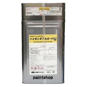 ●送料無料● ハイポンWガードU 調色(淡彩色) 16kgセット 日本ペイント ウレタン樹脂
