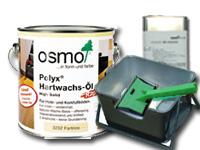 【塗装用具のセット】 オスモ フロアークリアーエクスプレス 2.5Lセット専用塗装具のセット 塗装容器とコテバケと洗浄液のセット
