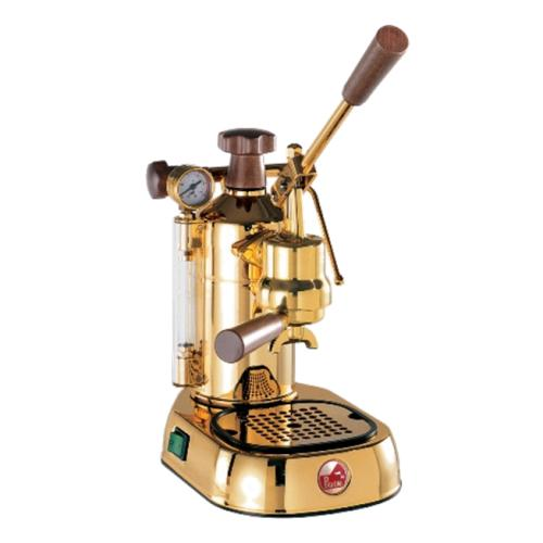 コーヒーマシン エスプレッソ コーヒーメーカーLa Pavoni( ラ・パボーニ )「 プロフェッショナル PDH 」(18金メッキタイプ)正規輸入品・送料無料