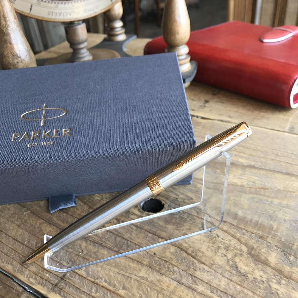 PARKER パーカー ソネットニューコレクション ボールペン ステンレススチールGT 1950798/女性/プレゼント/贈り物/記念品