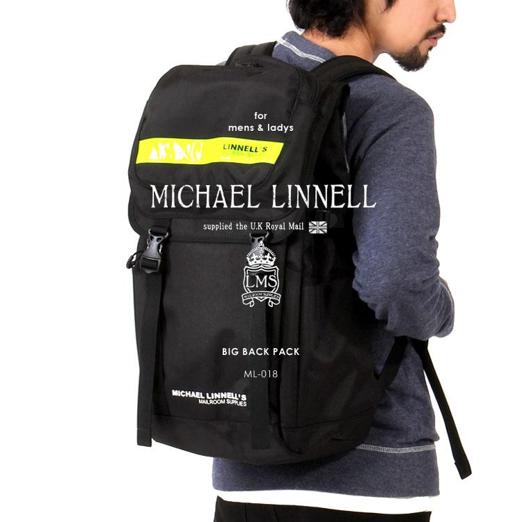 MICHAEL LINNELL/マイケルリンネル ML-018 リフレクター フラップ バックパック