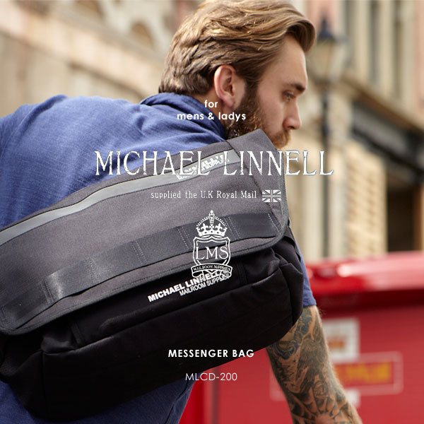 MICHAEL LINNELL/マイケルリンネル MLCD-200 リフレクター メッセンジャーバッグ/メッセンジャー