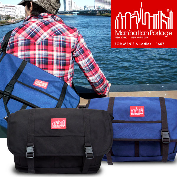 ManhattanPortage / Manhattan Portage 1607 URBAN MESSENGER BAG / urban Messenger bag /Nylon nylon