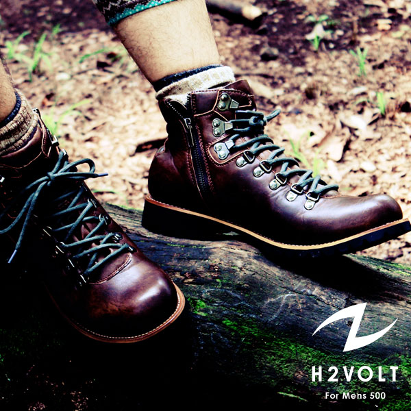 H2VOLT  Vintage Style Side Zip Mountain / VO-500 / men's boots