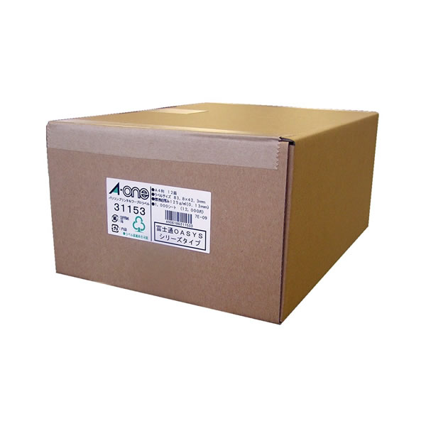 ●パソコンプリンタ&ワープロラベルシール 1000枚入 富士通OASYSシリーズタイプ 【12面】 エーワン 31153