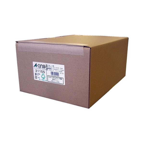 ●パソコンプリンタ&ワープロラベルシール 1000枚入 汎用タイプ・インチ改行 【12面】 エーワン 31155