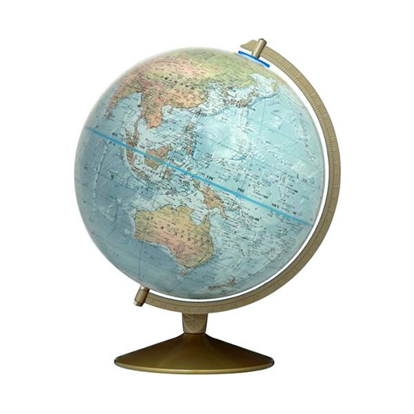 地勢型地球儀 マリナー型 30cm 【英語版】 渡辺教具 33500 【取り寄せ商品】