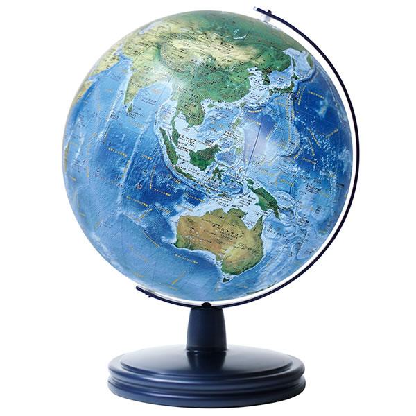 水の惑星としての地球の自然を描いた地球儀 渡辺教具 ラ メール No.2606 結婚祝い 海洋タイプ地球儀 スチール台 取り寄せ商品 激安価格と即納で通信販売