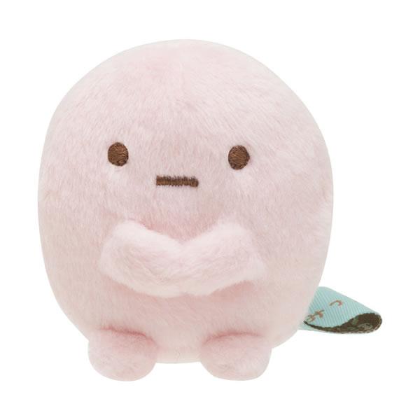 おてだまみたいな可愛いサイズのぬいぐるみ すみっコぐらし てのりぬいぐるみ たぴおか サンエックス 7200 MX22801 信託 ピンク 開店祝い