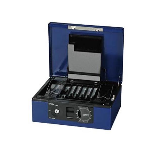 ●キャッシュボックス A4サイズ カール CB-8760-B