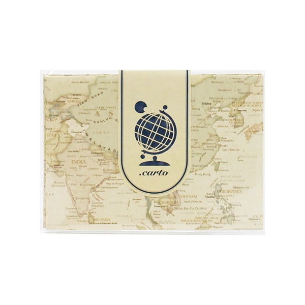 Penport rakuten global market world map design greeting cards envelope can be used as serving as well as greeting cards envelope all 4 pattern is different m4hsunfo
