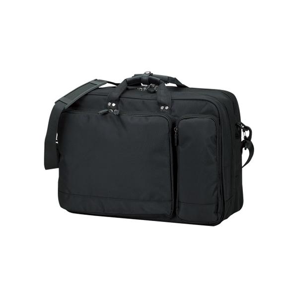 ●カジュアルビジネスバッグ 【A3・黒】 クラウン CR-BB742-B