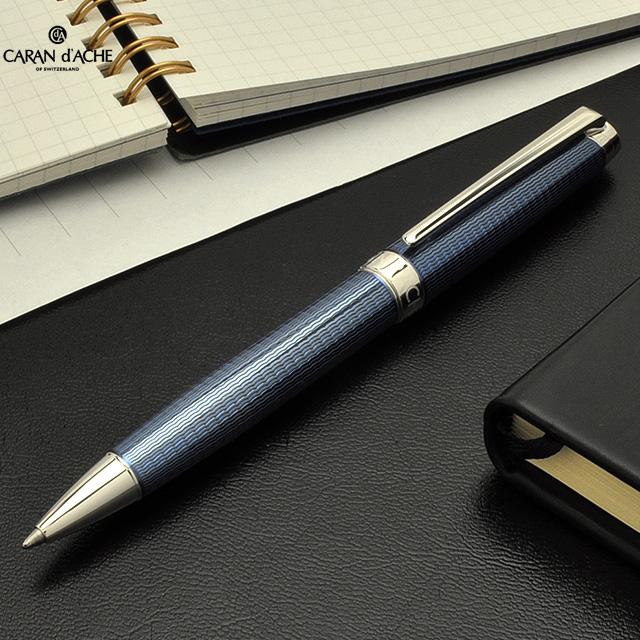 【ボールペン 名入れ】カランダッシュ CARAND'ACHE ボールペン レマン コレクション 4789-168 グランブルー 【 プレゼント ギフト 】【ペンハウス】 (68000)