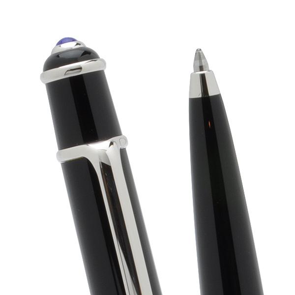 Cartier Ballpoint pen Diabolo de Cartier ST180010 Black composite / Platinum finish