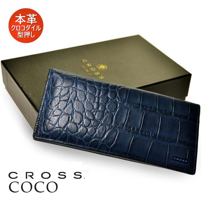 クロス 革小物 COCO 35-5039 長財布 クロコダイル 【ペンハウス】 (15000)