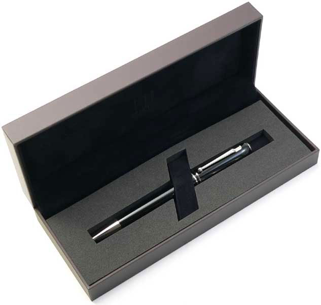 Dunhill roller ball Sidecar NUW3113 Black Resin