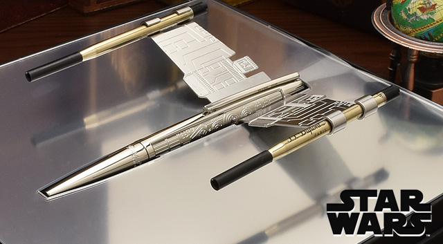 The Dream Pen: Star Wars fountain pens from Cross. Image via Cross Pen.