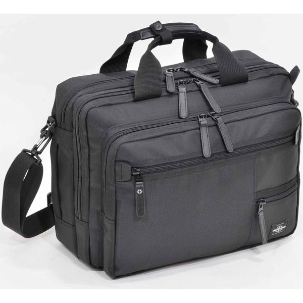 【ビジネスバッグ メンズ】エンドー鞄 NEOPORO ZIP 2-055 2wayビジネスブリーフ 【 プレゼント ギフト 】【ペンハウス】 (14000)