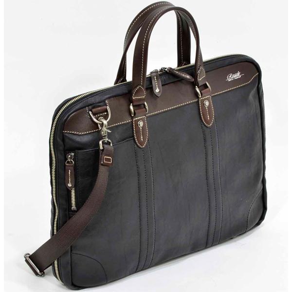 【ビジネスバッグ メンズ】エンドー鞄 REGALE(レガーレ) 7-020BK ジャリコ 三方開きブリーフ クロ 【 プレゼント ギフト 】【ペンハウス】 (19000)