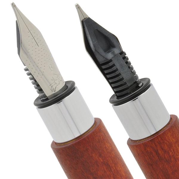 ファーバーカステル 万年筆 デザインシリーズ アンビション 148181 ペアウッド「ブランド」【・ラッピング無料】 (14000)
