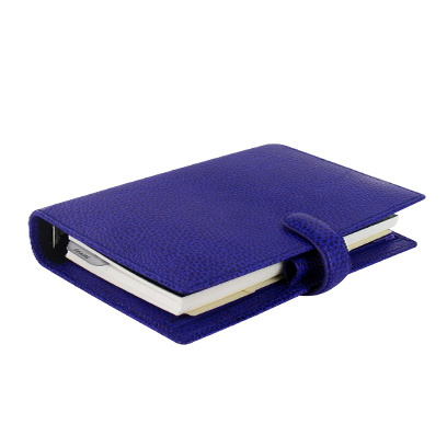 ファイロファックス バイブルサイズ フィンスバリー システム手帳 022499 ブルー【 プレゼント ギフト 】【 高級 人気 男性 女性 】 (14000)