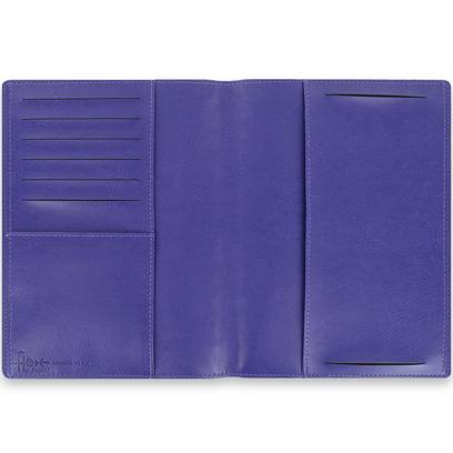 Filofax A5 size Flex Memo pad 855015 Smooth Purple