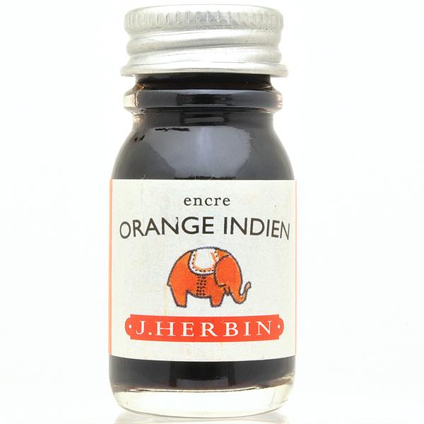 エルバン ボトルインク トラディショナルインク10ml HB11557 インディアンオレンジ 【万年筆 インク】【 プレゼント ギフト 】【万年筆・ボールペンのペンハウス】 (650)
