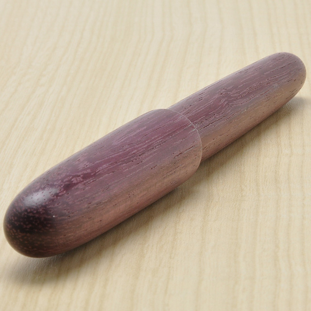 Hirai wood turnery, fountain clouds boat series purple heart (15,000)