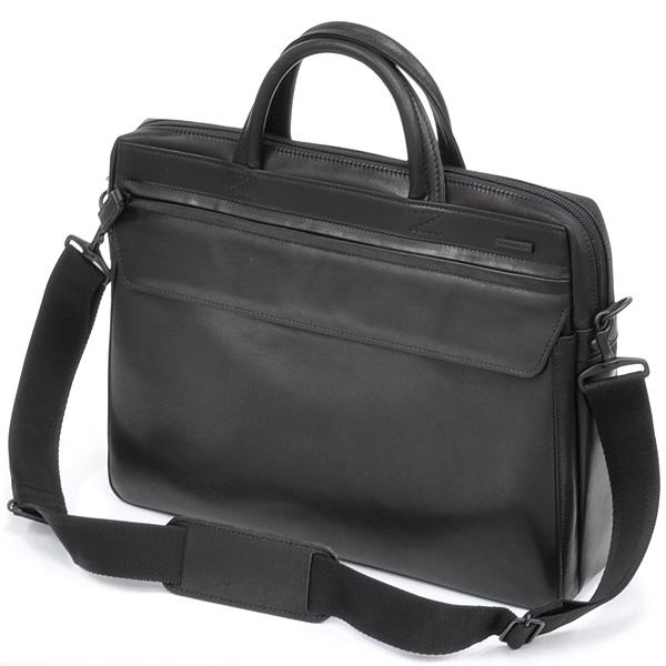 【ビジネスバッグ メンズ】イケテイ KARUWAZA 鞄 ウイング ビジネスバッグ 18563-BLK 天F ブラック【送料無料・ラッピング無料】【 プレゼント ギフト 】【万年筆・ボールペンのペンハウス】 (32000)