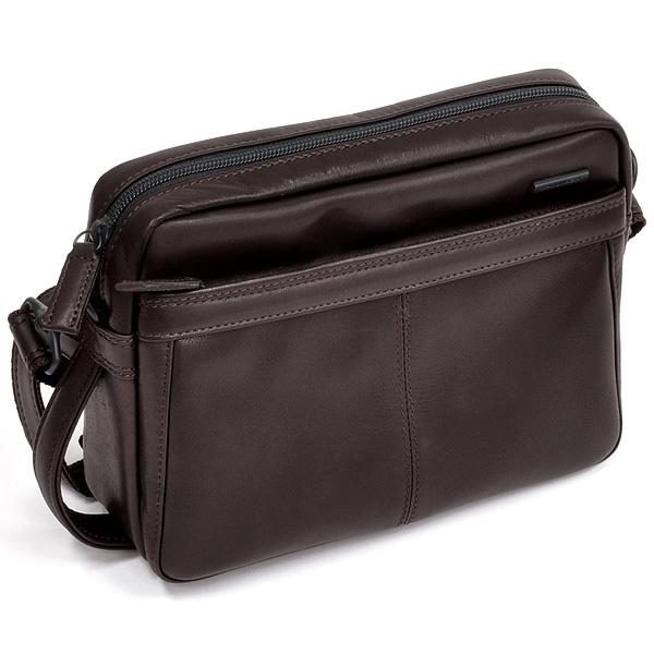 【ビジネスバッグ メンズ】イケテイ KARUWAZA 鞄 ウイング メンズバッグ 18263-CHO チョコ セカンドバッグ ショルダーバッグ兼用【 プレゼント ギフト 】【ペンハウス】 (22000)