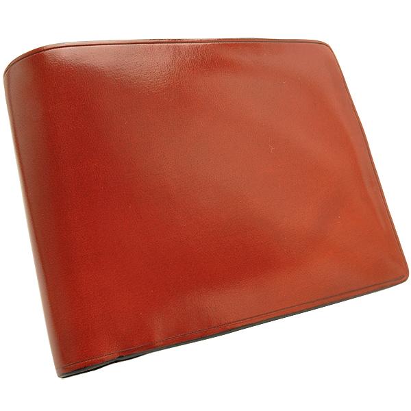 【財布 二つ折り】イルブセット 二つ折り財布(小銭入れ付) 7815119 レッド【 プレゼント ギフト 】【ペンハウス】 (15000)