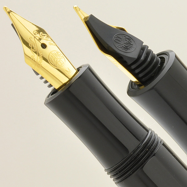 KAWECO Fountain pen LUX LUX-F Black and Gold