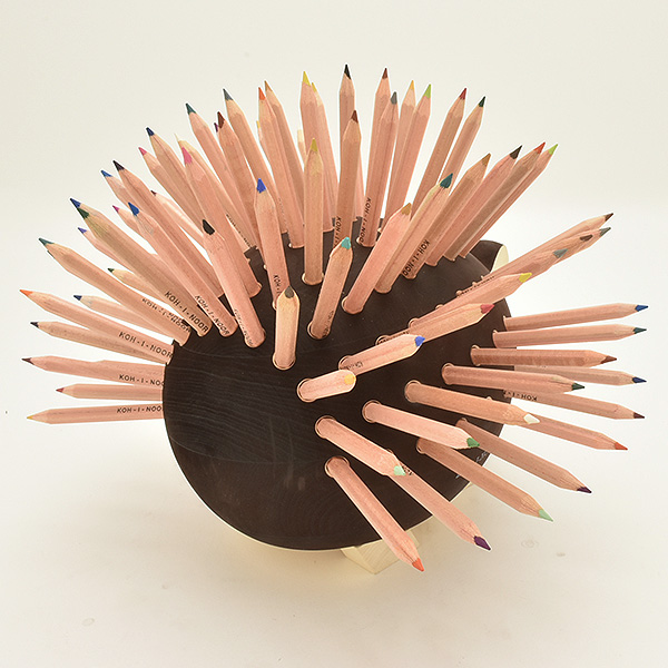 Kohinoor Hedgehog type Colored pencil stand (Large) 96 pieces set