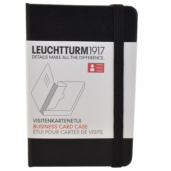 Leuchtturm1917 Business Card Case 350140 Black