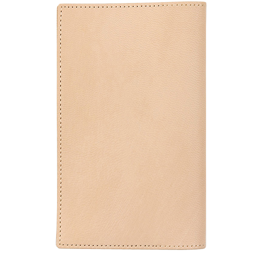Midori MD Notebook cover Leather Goat Nume 49844006 Shinsho size