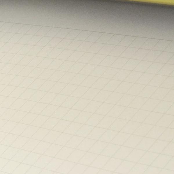 Mnemosyne B4 deformation-format Mnemosyne Light Notepad N168 5mm grid
