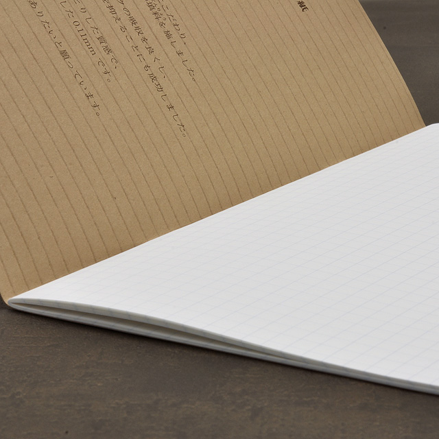Liscio-1 A5 size thin notebook 5mm grid