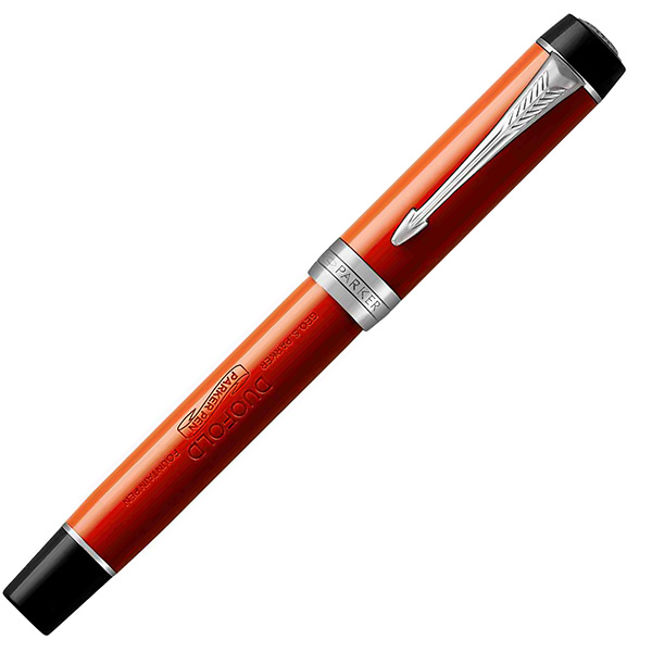 【万年筆 名入れ】パーカー 万年筆 デュオフォールド クラシック  ビッグレッドCT インターナショナル 193137 【送料無料・名入れサービス・ラッピング無料】「ブランド」【Fountain pen】【高級万年筆】【 プレゼント ギフト 】【ペンハウス市場店】 (80000)