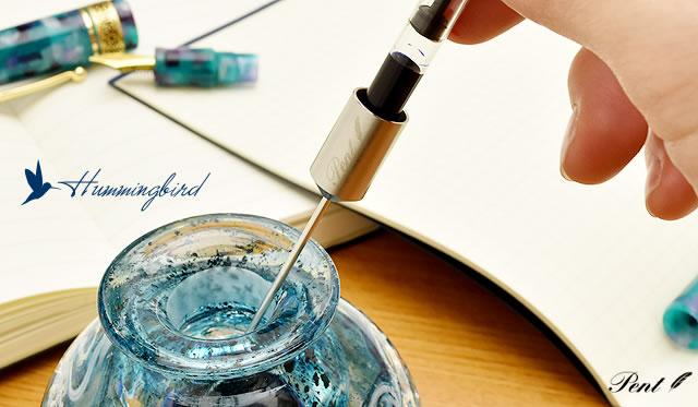 Pent fountain pen ink Inhaler adapter Hummingbird