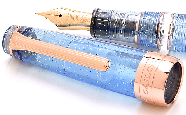 Sailor Fountain pen Pent Special product Professional gear REALO 11-8369 Pink gold / Precious Aquamarine
