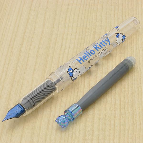 [Out of stock] PLATINUM Fountain pen Preppy Hello Kitty color Fountain pen BlueBlack