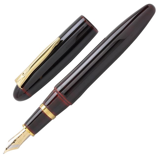 プラチナ万年筆 万年筆 出雲 溜塗り(ためぬり) PIZ-55000-28 赤溜【送料無料・ラッピング無料】【高級万年筆】【PLATINUM】【Fountain pen】【 プレゼント ギフト 】【万年筆・ボールペンのペンハウス】 (55000)