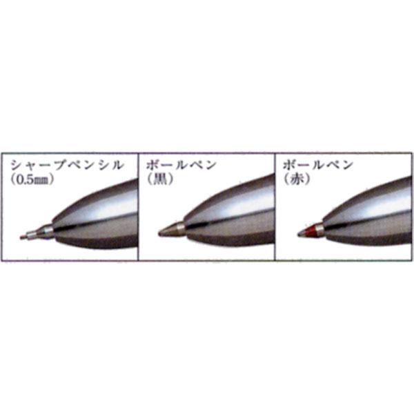 PLATINUM Multi-function pen DOUBLE ACTION R3 Cordia MWB-3000RW-1 Black