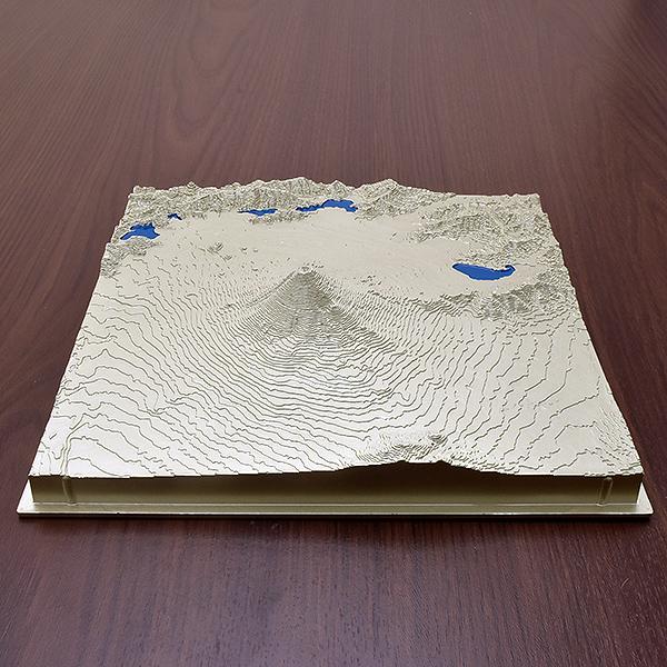 レリオラマ 富士山 スイス製精密山岳模型 2510-S シルバー 【 プレゼント ギフト 】【万年筆・ボールペンのペンハウス】 (9800)