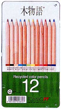 Tombow colored pencil Tree story CB-RE12C 12 colors(Can)