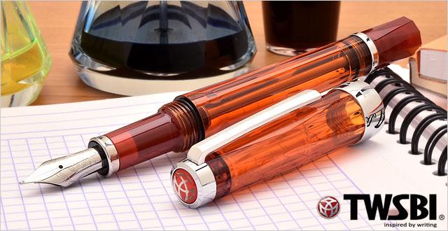 TWSBI Fountain pen VAC 700 Amber